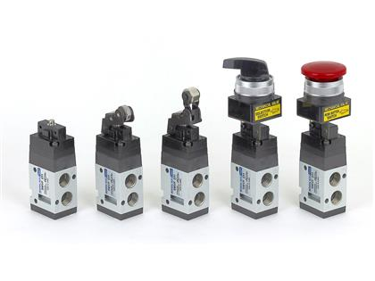 3port Pilot type Mechanical Valve (SMVF231~232 Series)