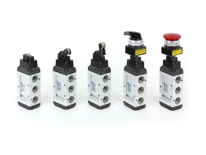 5port Pilot type Mechanical Valve (SMVF350 Series)